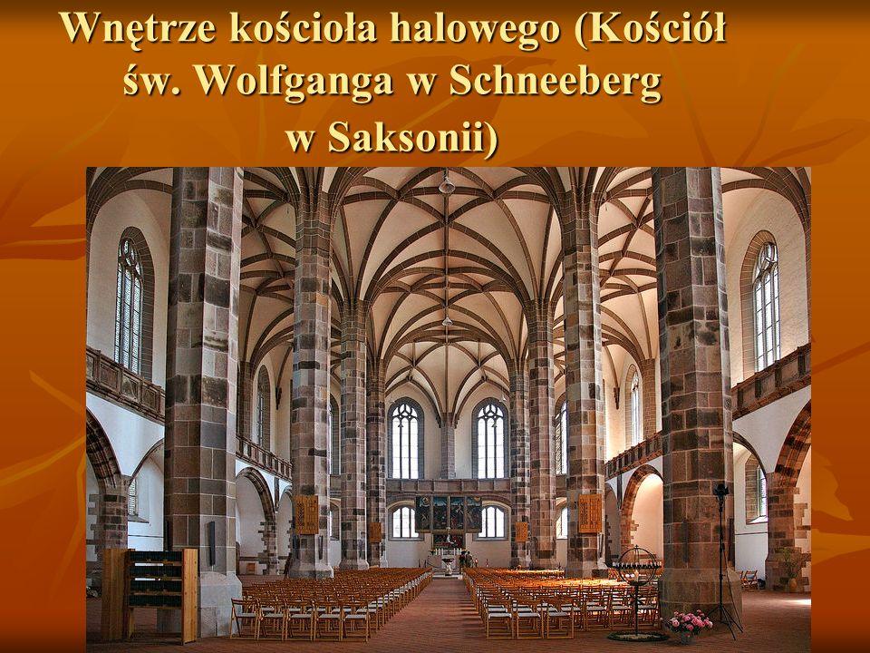 Wnętrze kościoła halowego (Kościół św