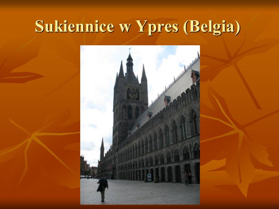 Sukiennice w Ypres (Belgia)