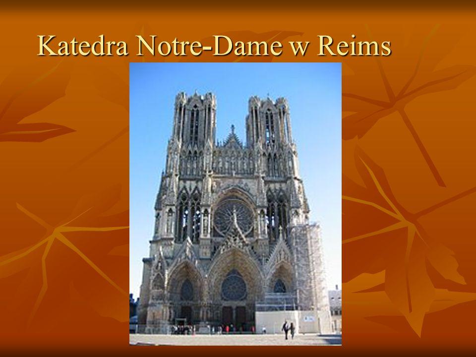 Katedra Notre-Dame w Reims