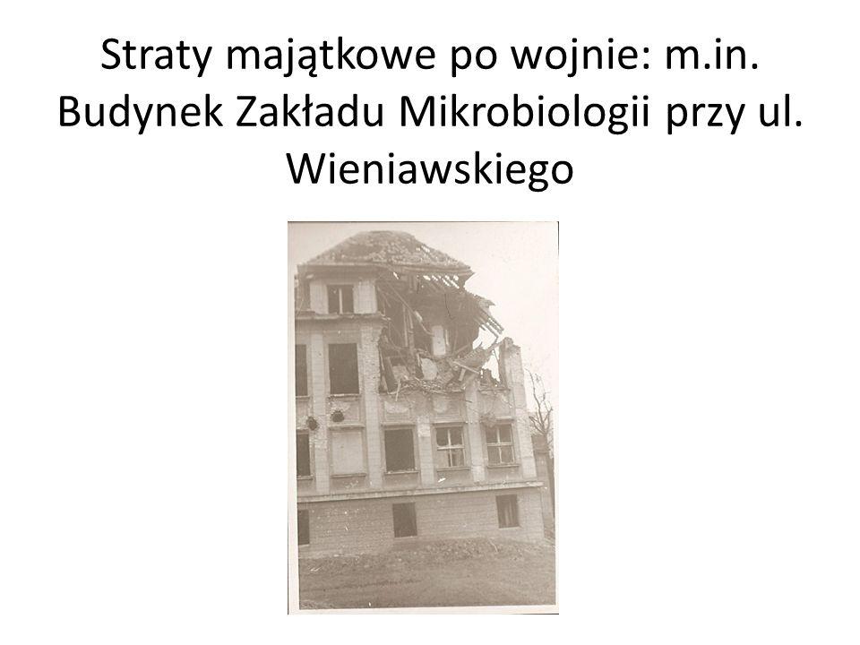 Straty majątkowe po wojnie: m. in