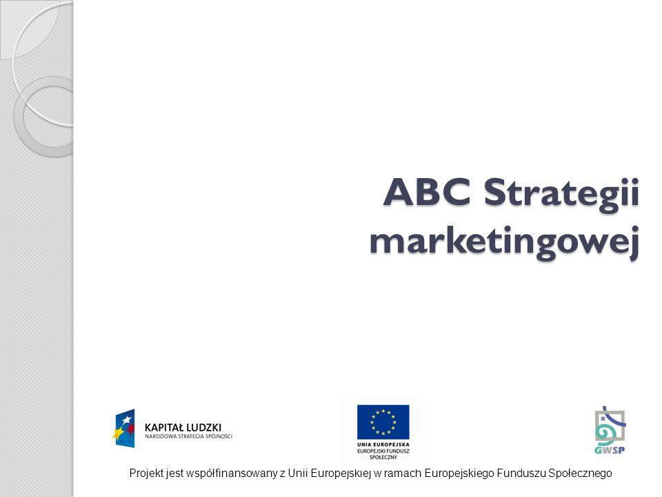 ABC Strategii marketingowej