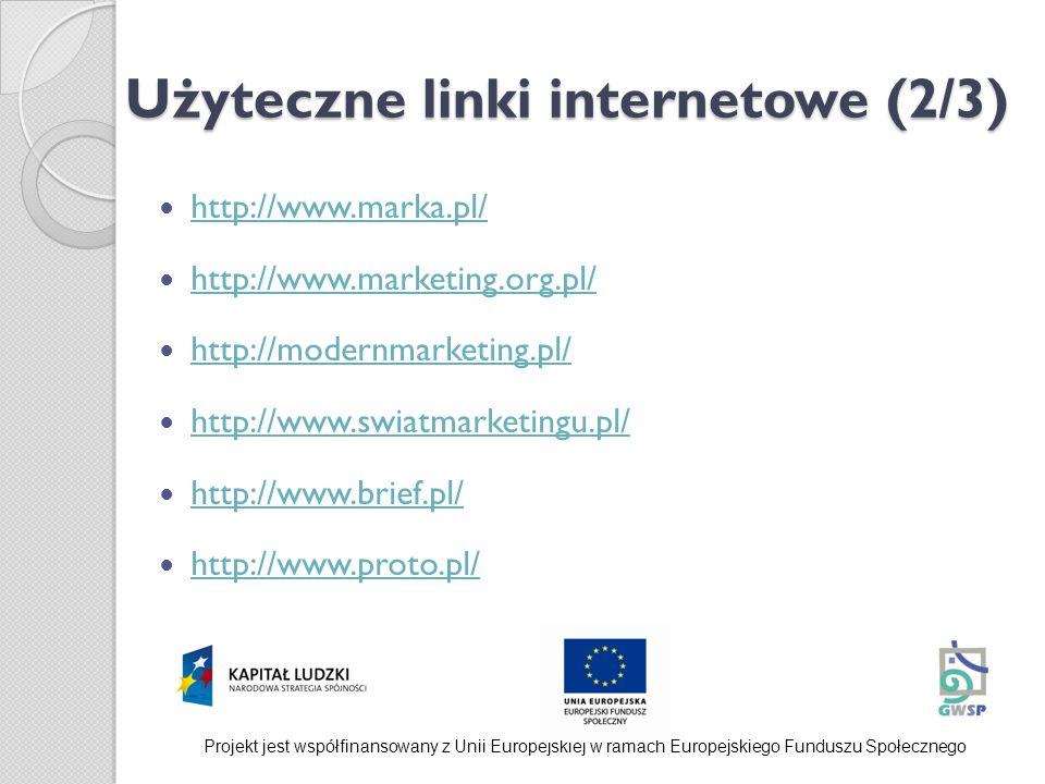 Użyteczne linki internetowe (2/3)