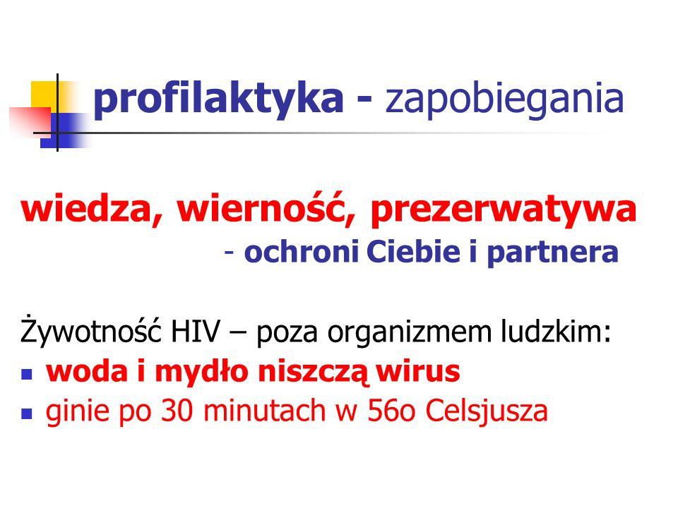profilaktyka - zapobiegania