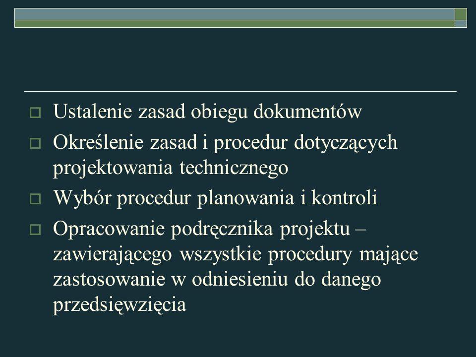 Ustalenie zasad obiegu dokumentów