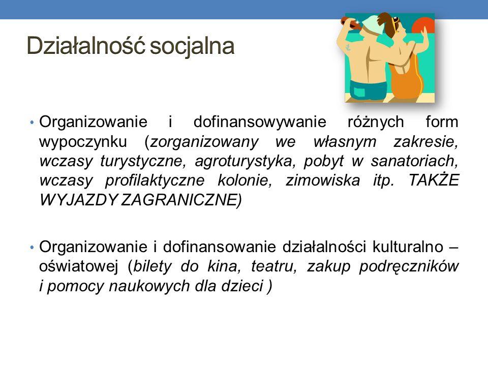 Działalność socjalna
