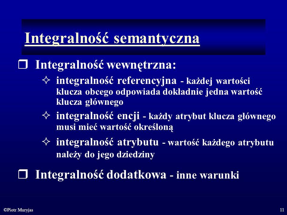 Integralność semantyczna