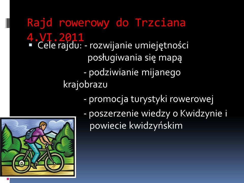 Rajd rowerowy do Trzciana 4.VI.2011