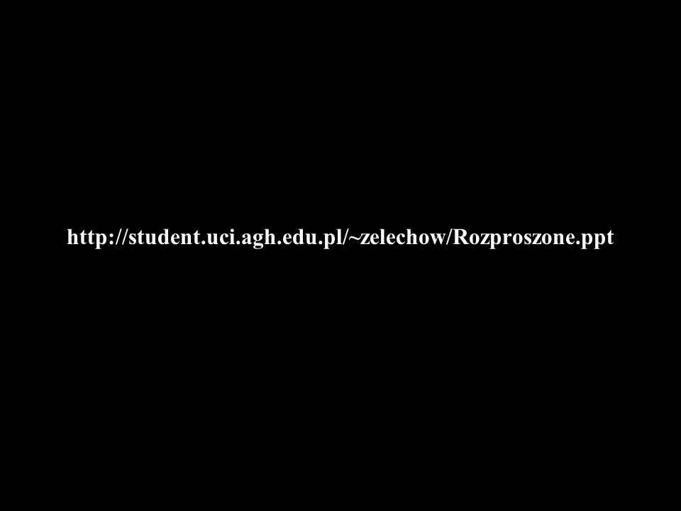 http://student.uci.agh.edu.pl/~zelechow/Rozproszone.ppt