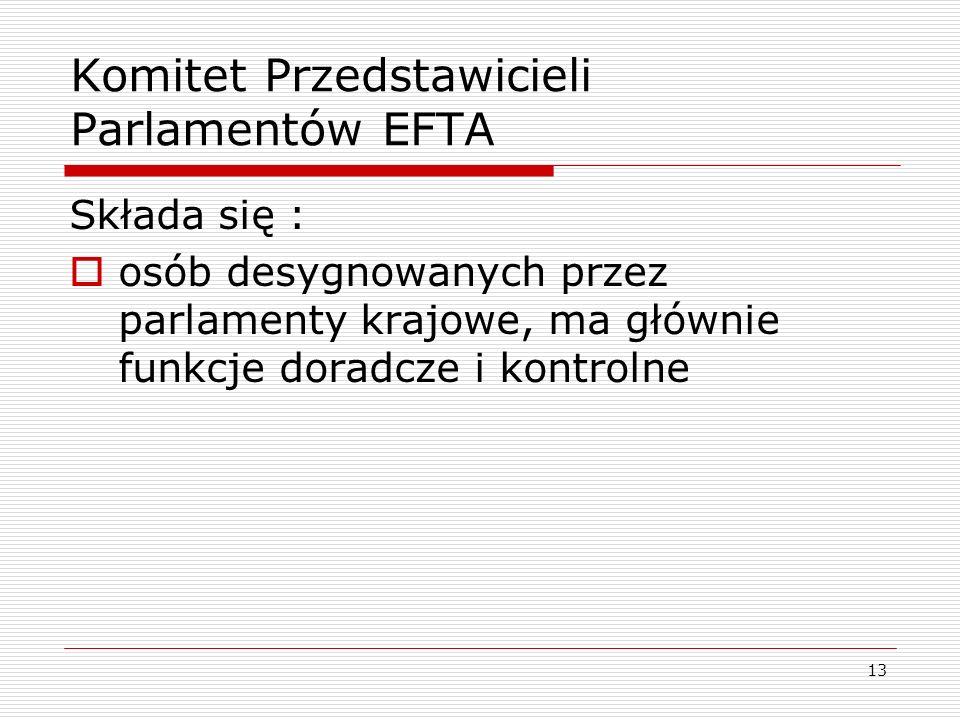 Komitet Przedstawicieli Parlamentów EFTA