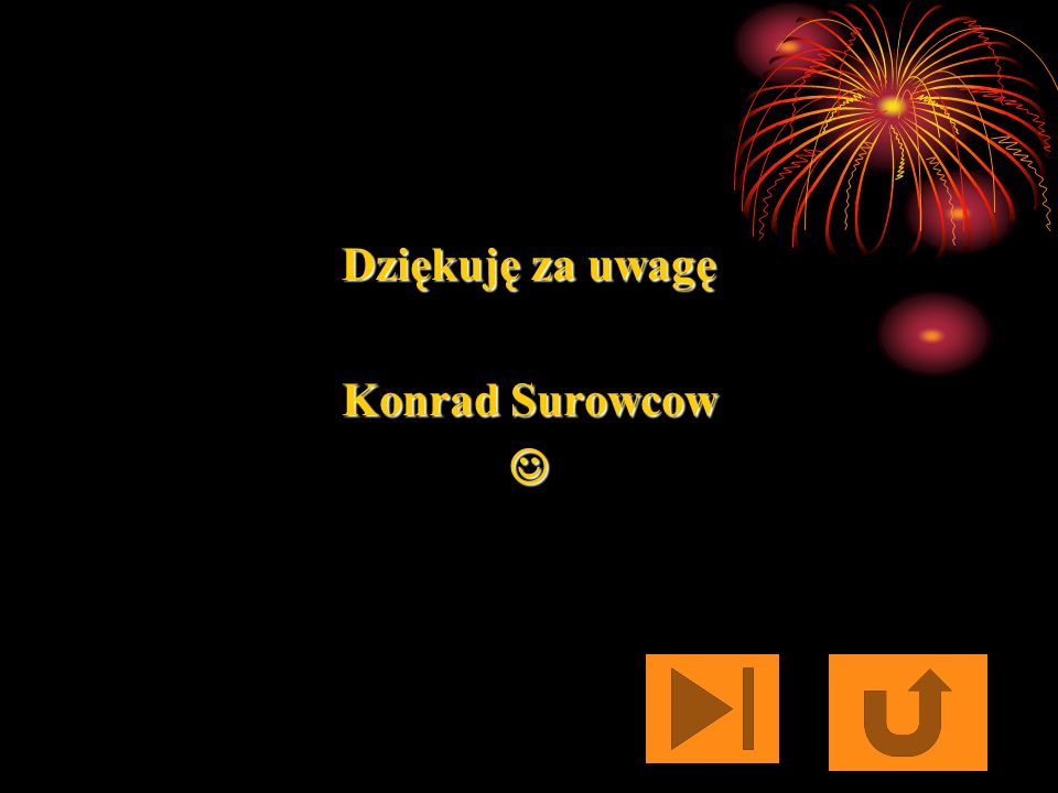 Dziękuję za uwagę Konrad Surowcow 