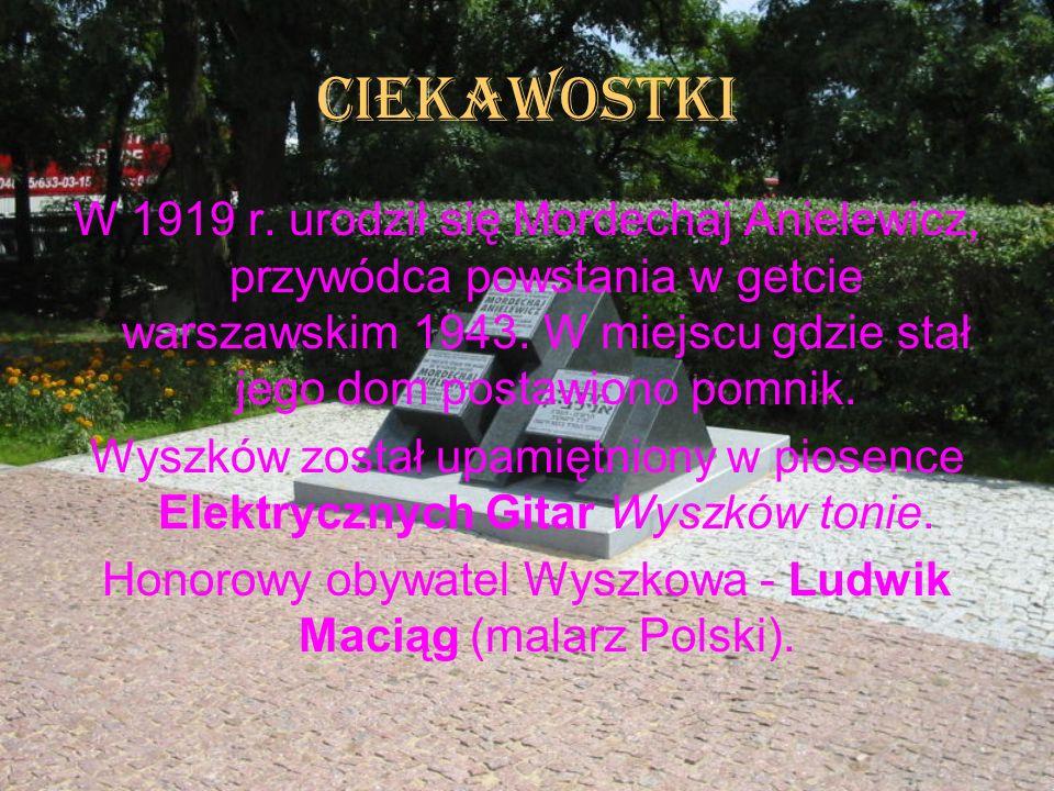 Honorowy obywatel Wyszkowa - Ludwik Maciąg (malarz Polski).