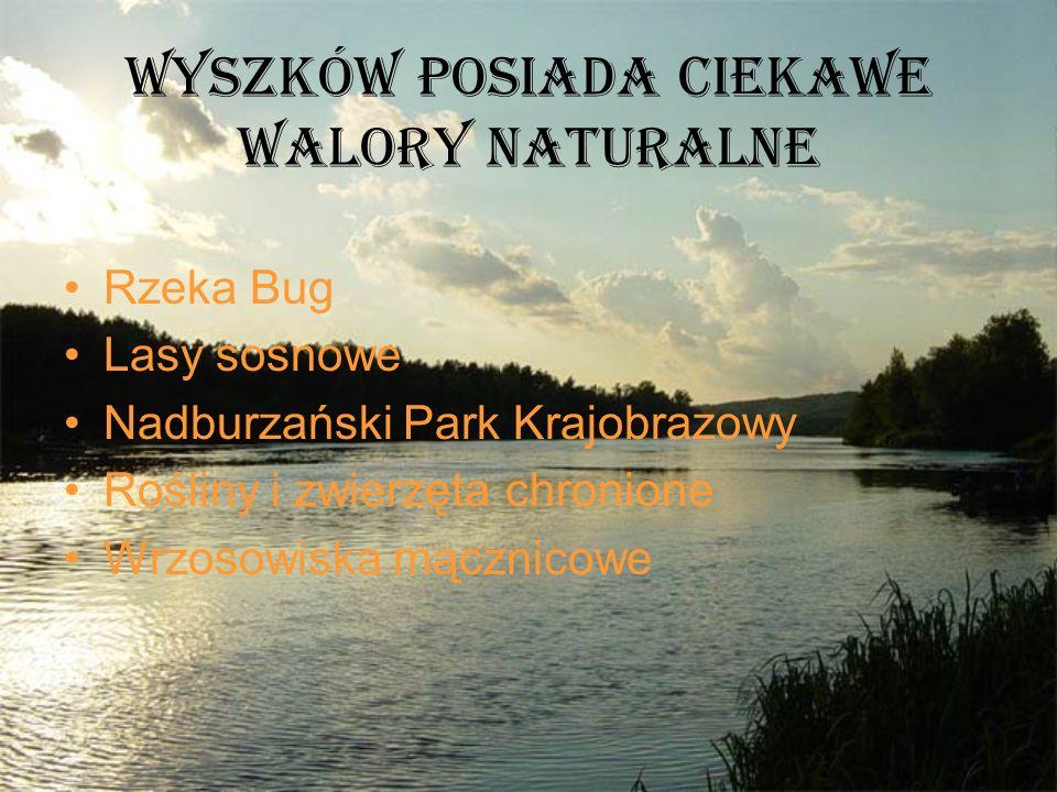 Wyszków posiada ciekawe walory naturalne