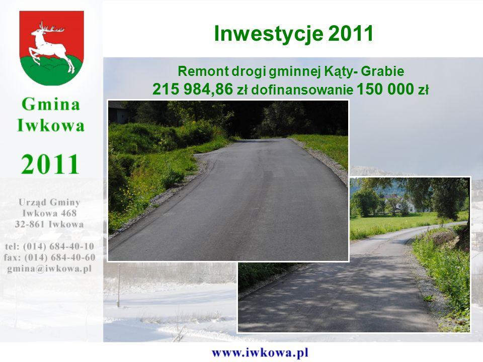 Remont drogi gminnej Kąty- Grabie