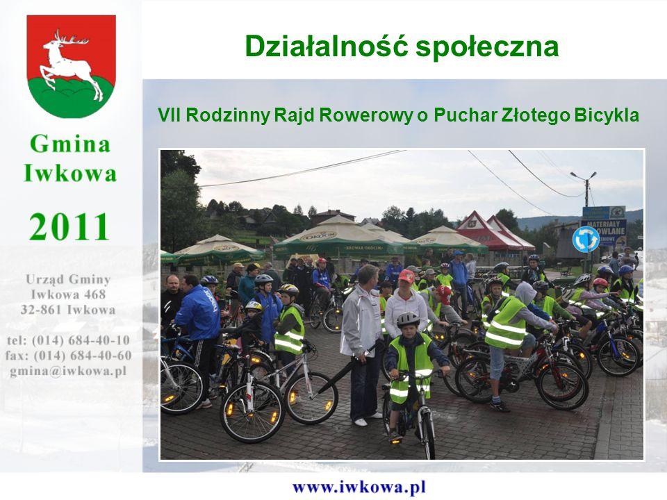 VII Rodzinny Rajd Rowerowy o Puchar Złotego Bicykla