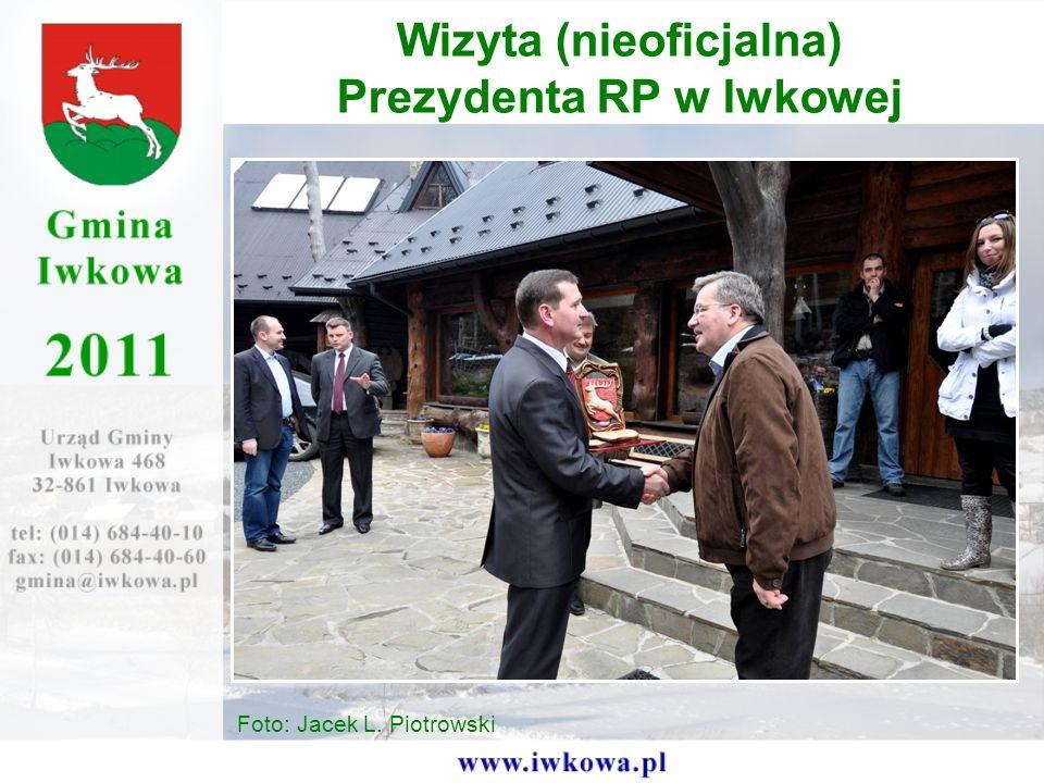 Wizyta (nieoficjalna) Prezydenta RP w Iwkowej