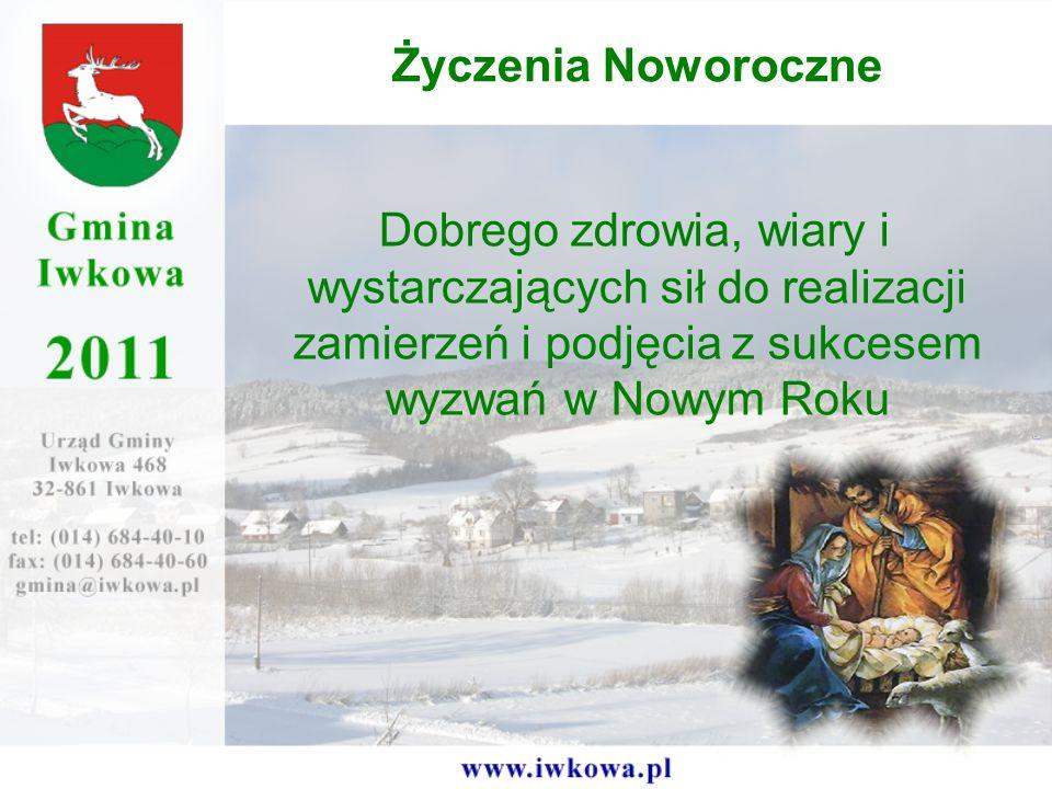 Życzenia Noworoczne Dobrego zdrowia, wiary i wystarczających sił do realizacji zamierzeń i podjęcia z sukcesem wyzwań w Nowym Roku.