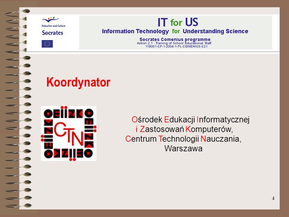 Koordynator Ośrodek Edukacji Informatycznej i Zastosowań Komputerów,