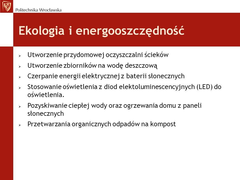 Ekologia i energooszczędność
