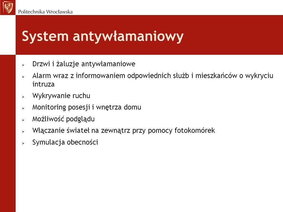 System antywłamaniowy