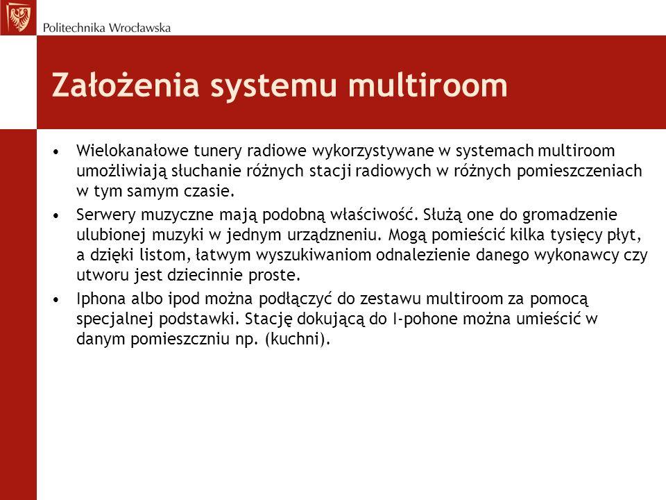Założenia systemu multiroom