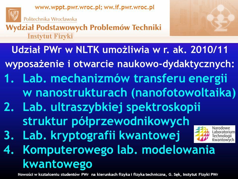 www.wppt.pwr.wroc.pl; ww.if.pwr.wroc.pl