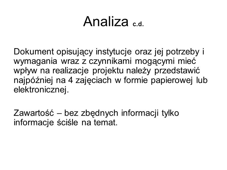 Analiza c.d.