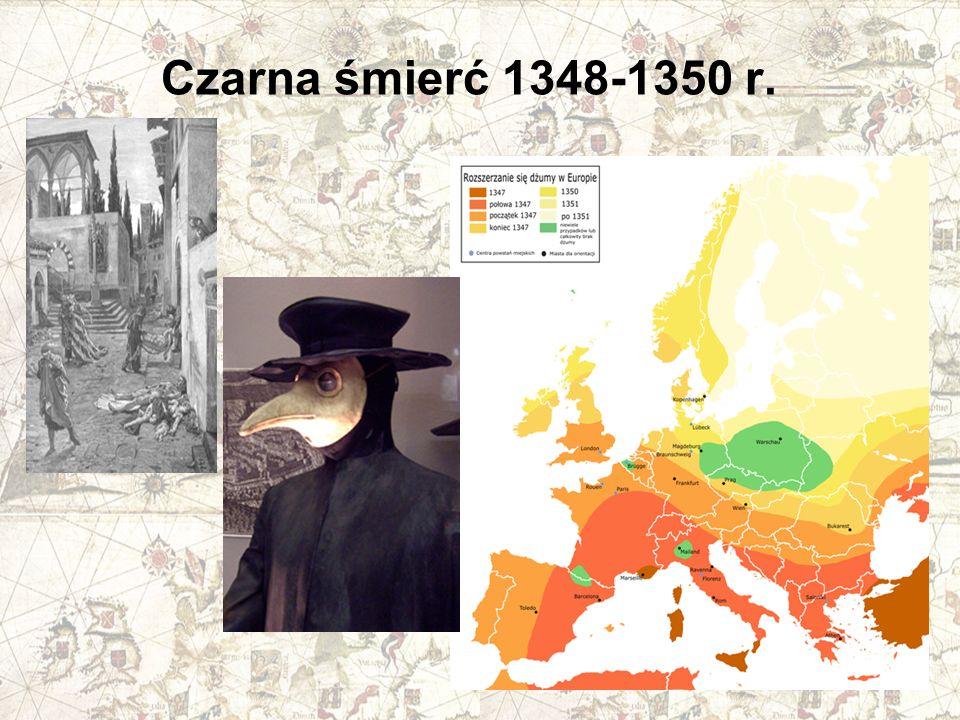 Czarna śmierć 1348-1350 r.