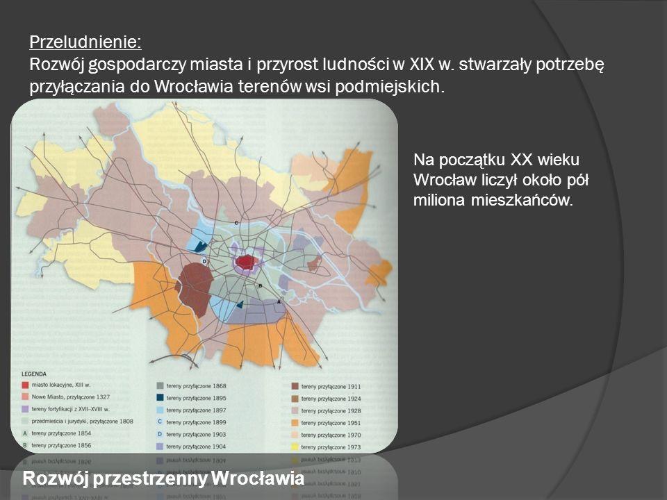 Rozwój przestrzenny Wrocławia