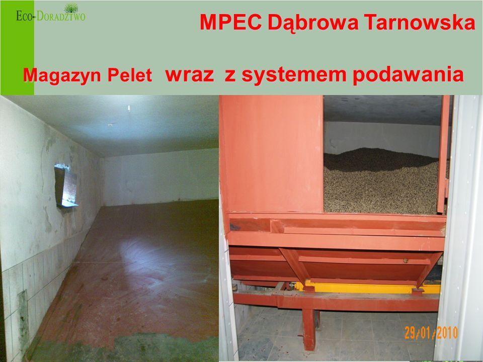 MPEC Dąbrowa Tarnowska Magazyn Pelet wraz z systemem podawania