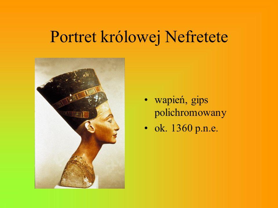 Portret królowej Nefretete