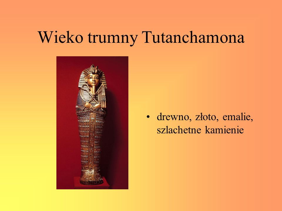 Wieko trumny Tutanchamona