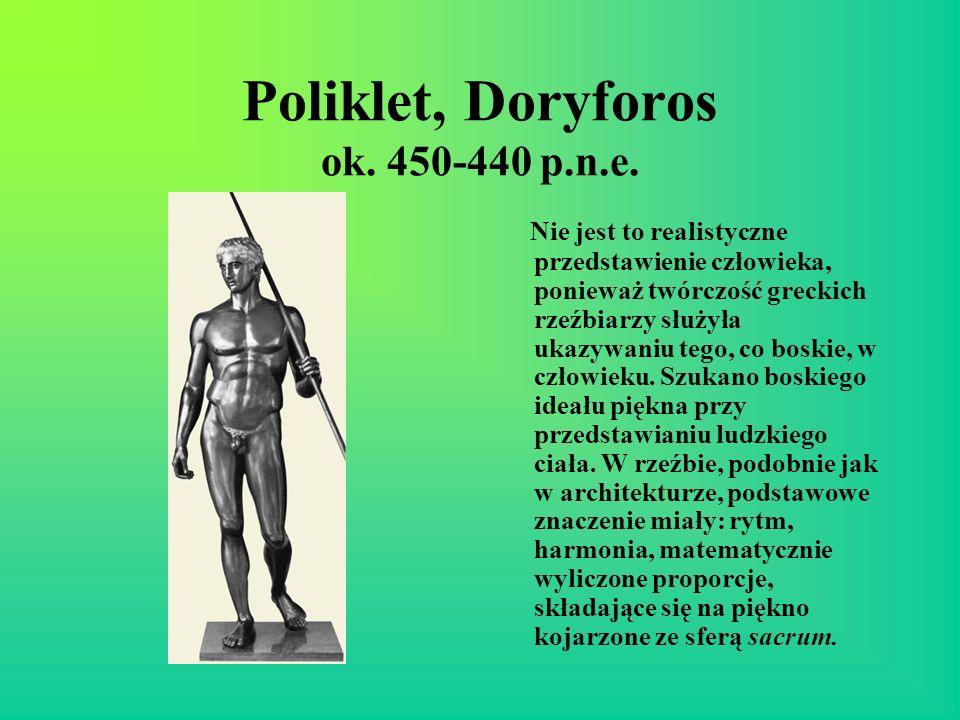 Poliklet, Doryforos ok. 450-440 p.n.e.