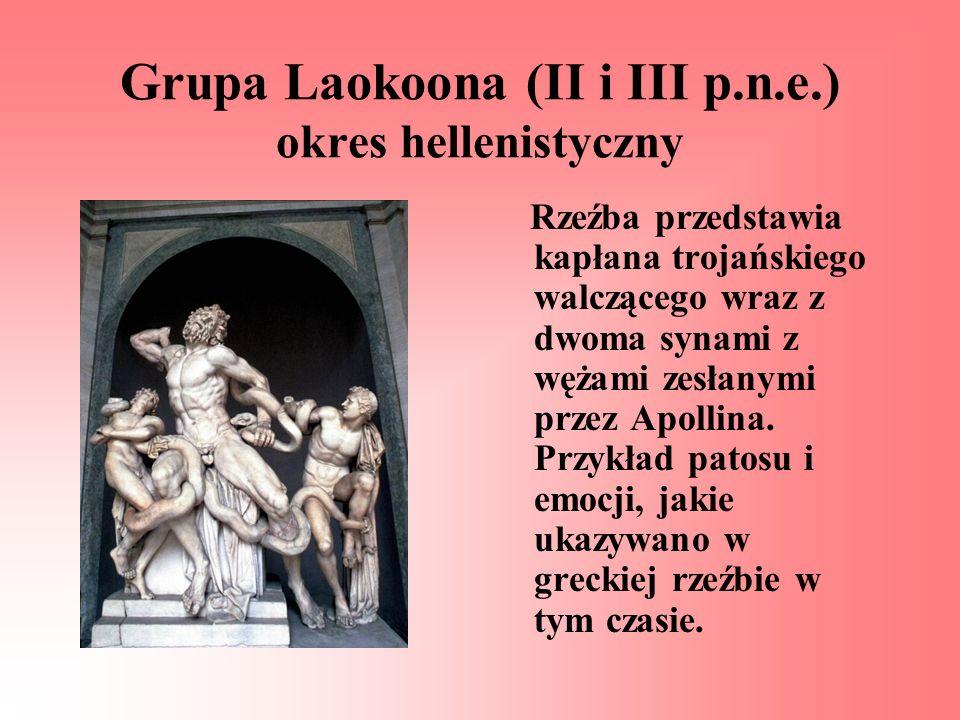 Grupa Laokoona (II i III p.n.e.) okres hellenistyczny