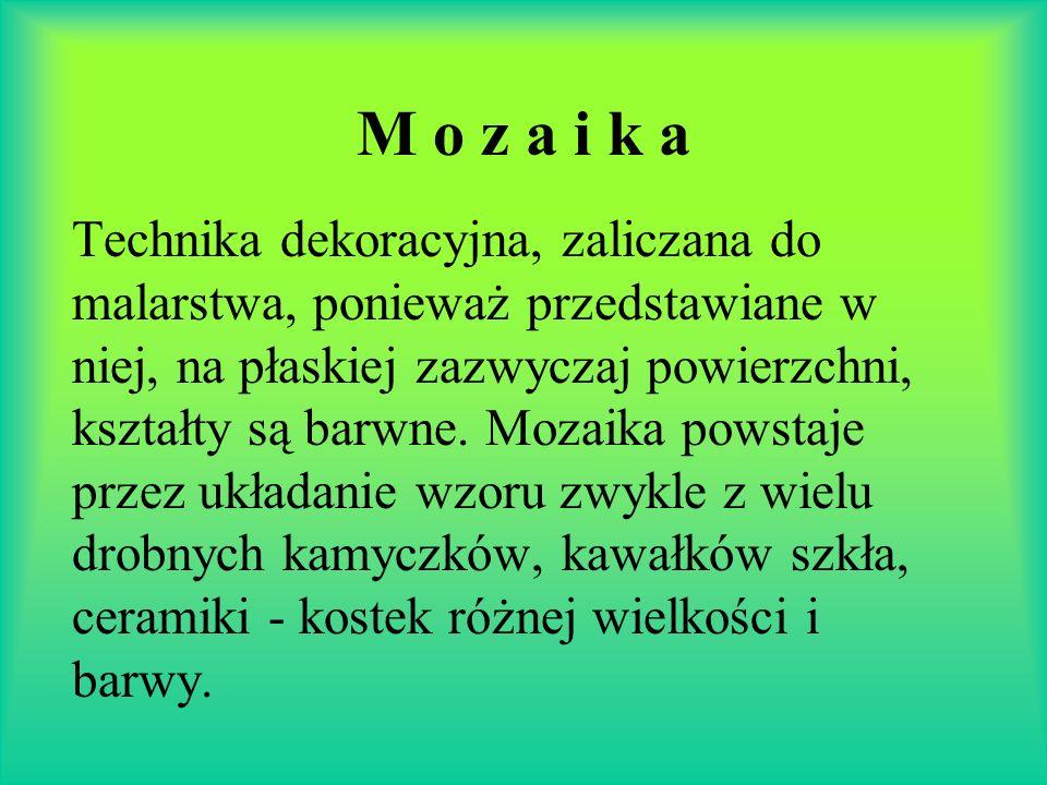 M o z a i k a
