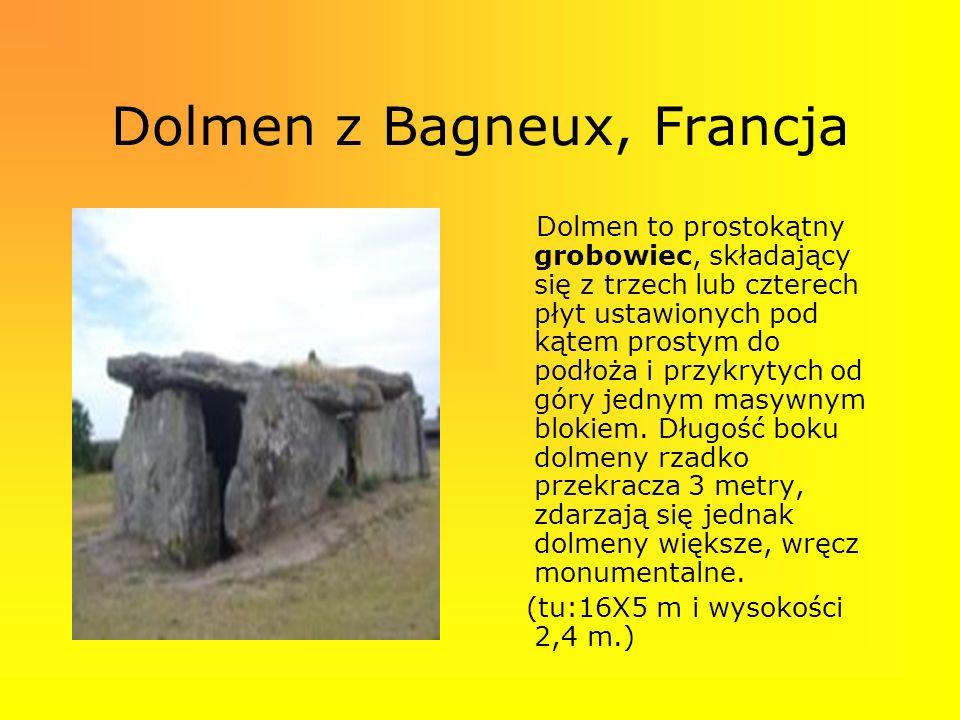 Dolmen z Bagneux, Francja