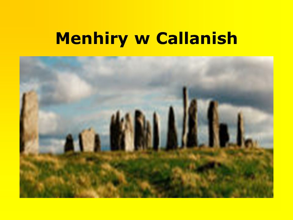 Menhiry w Callanish