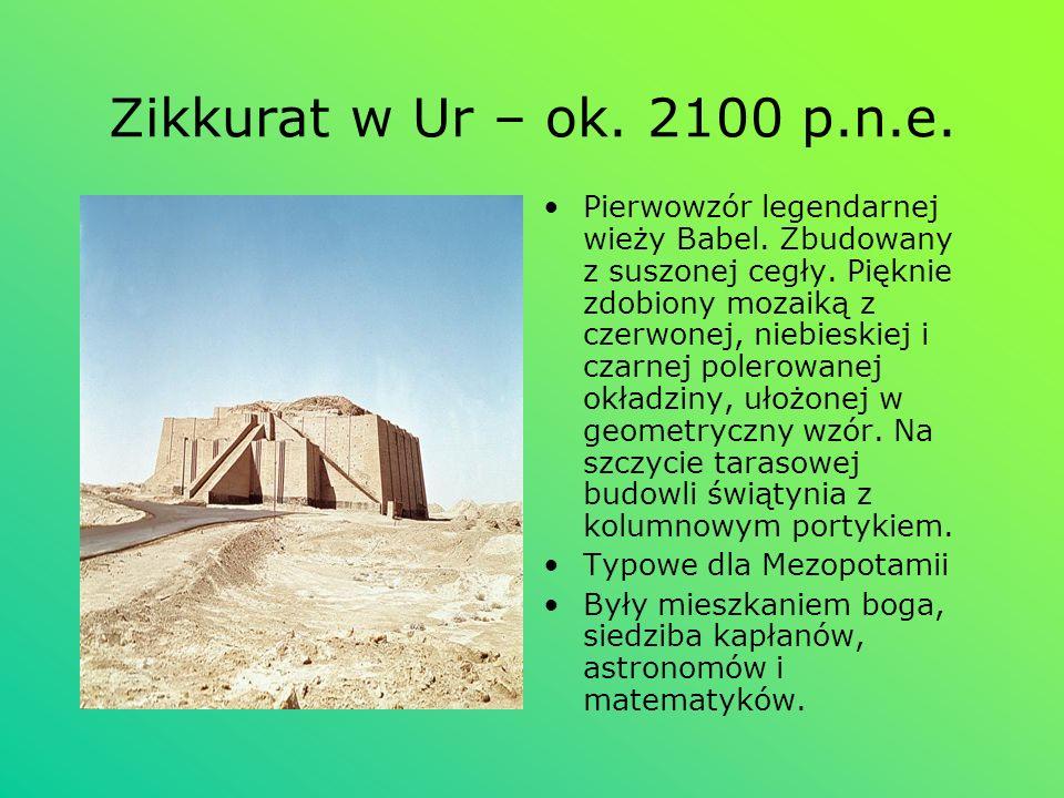 Zikkurat w Ur – ok. 2100 p.n.e.