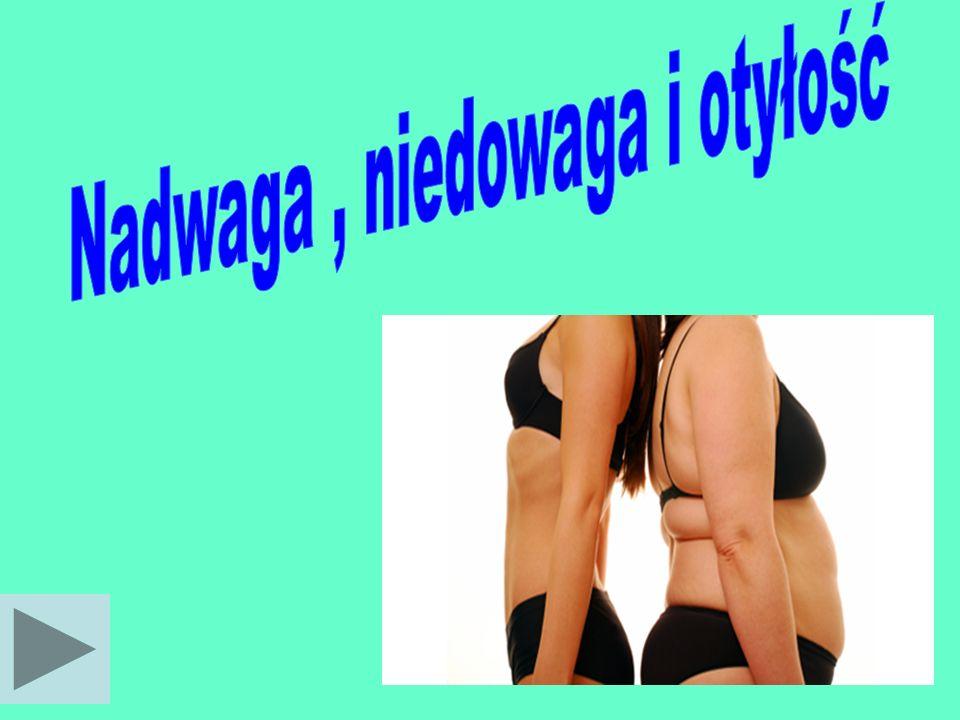 Nadwaga , niedowaga i otyłość