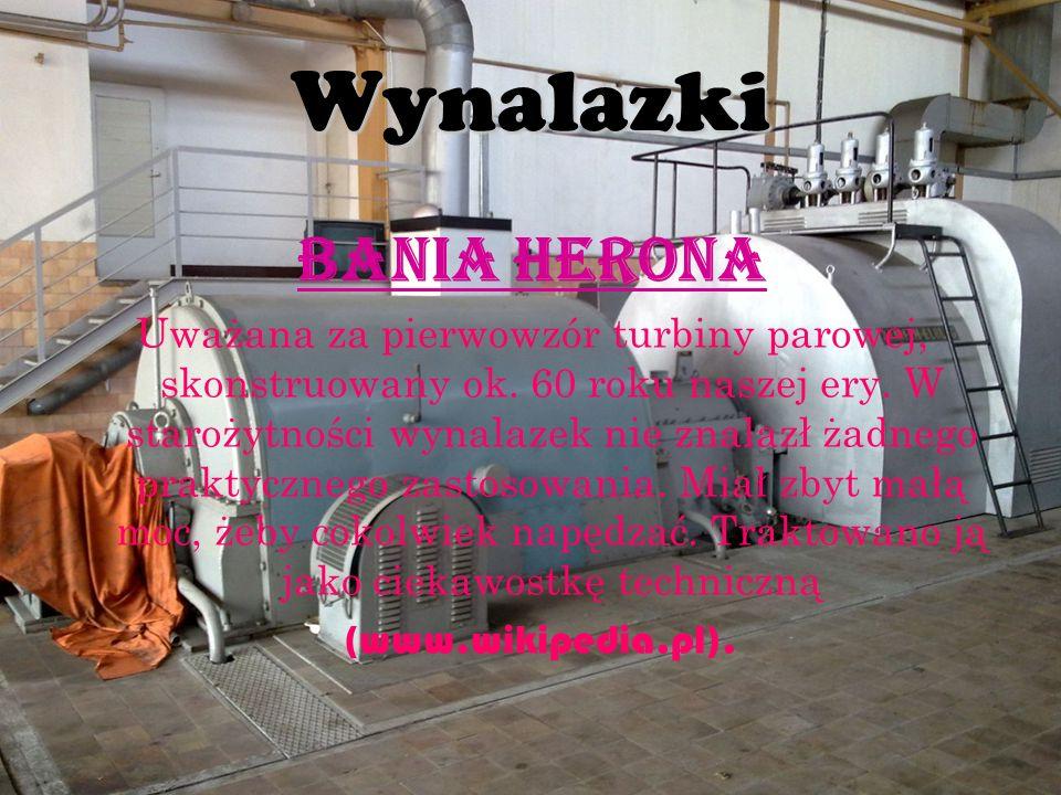 Wynalazki Bania Herona