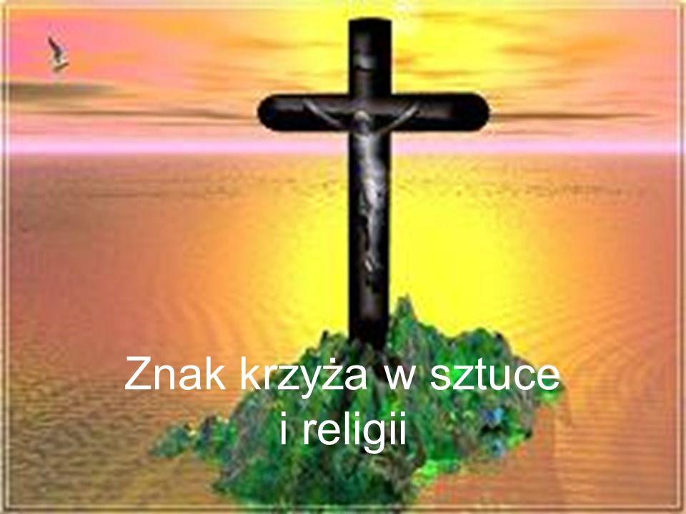 Znak krzyża w sztuce i religii