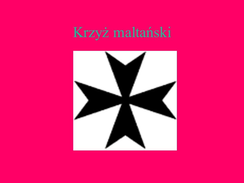 Krzyż maltański