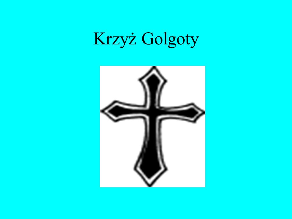 Krzyż Golgoty