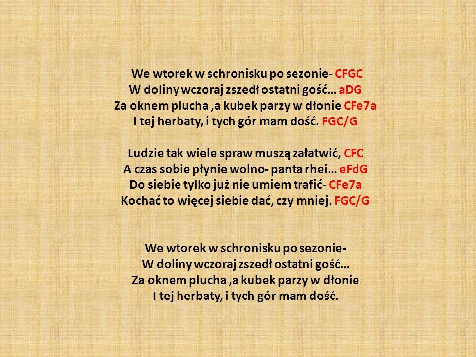 We wtorek w schronisku po sezonie- CFGC