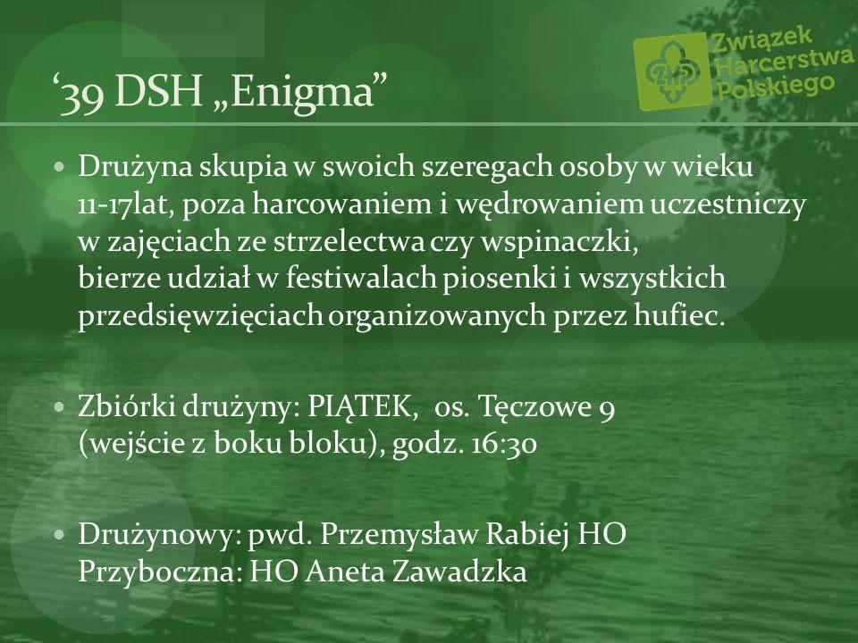 """'39 DSH """"Enigma"""