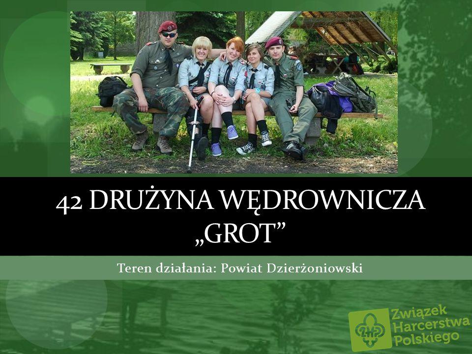 """42 drużyna wędrownicza """"Grot"""