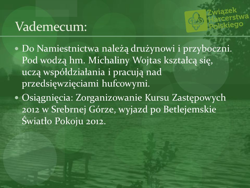 Vademecum: