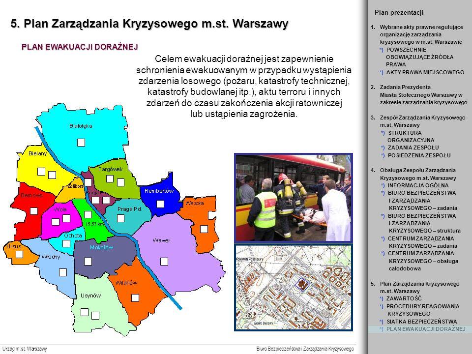 5. Plan Zarządzania Kryzysowego m.st. Warszawy
