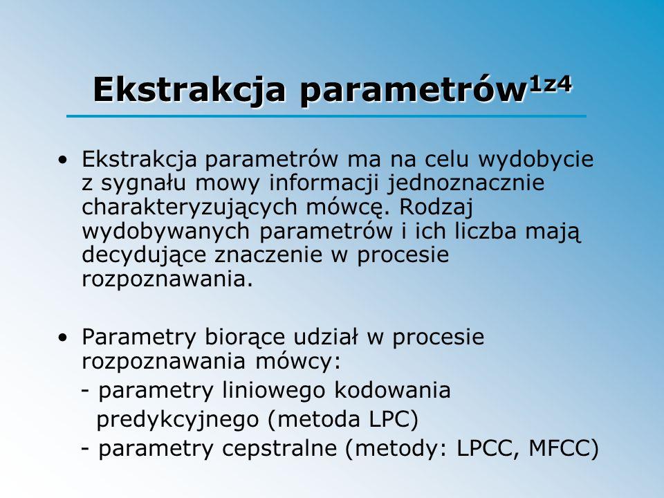 Ekstrakcja parametrów1z4