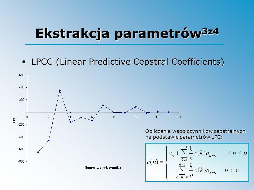 Ekstrakcja parametrów3z4