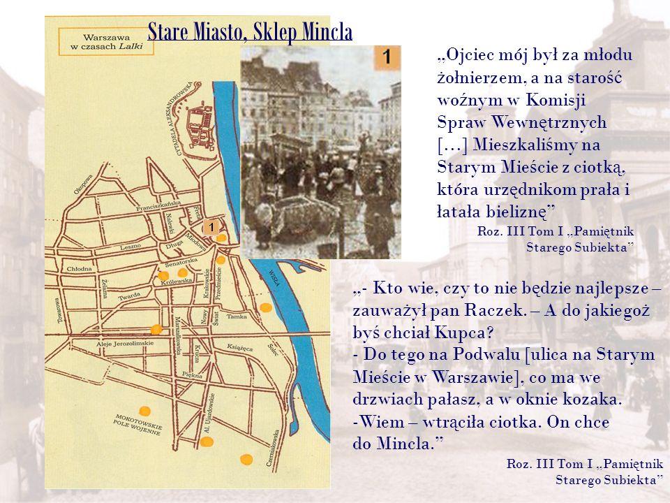 Stare Miasto, Sklep Mincla